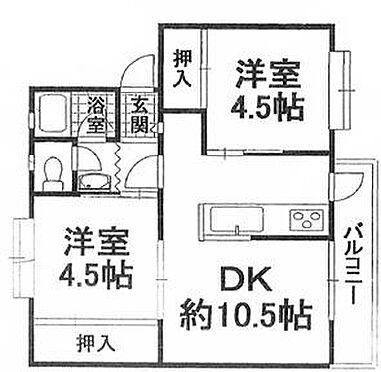 マンション(建物一部)-岸和田市下松町 間取り