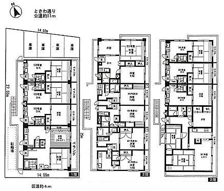 マンション(建物全部)-板橋区常盤台3丁目 間取図