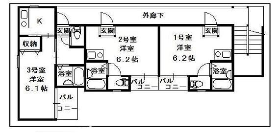 アパート-江戸川区北小岩3丁目 間取り