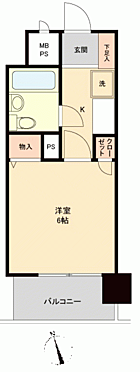 マンション(建物一部)-金沢市尾張町2丁目 間取り