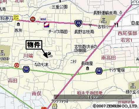 アパート-長野市大字高田 地図