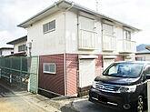 北九州市小倉南区徳吉西の収益アパート駐車2台可能2LDK成6年建築リビング3面採光で日当たり良好