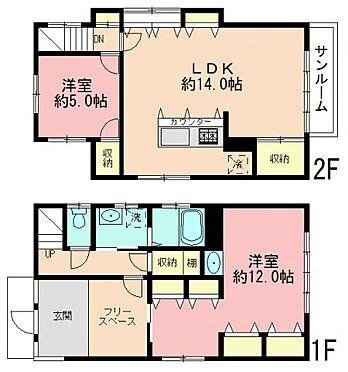 アパート-板橋区赤塚2丁目 間取り