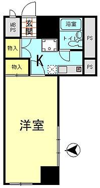 マンション(建物一部)-盛岡市長田町 間取り