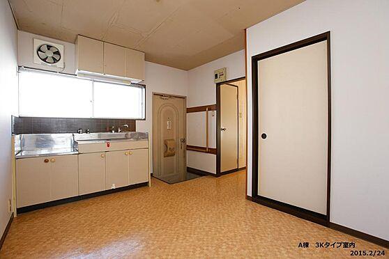 アパート-盛岡市東緑が丘 キッチン
