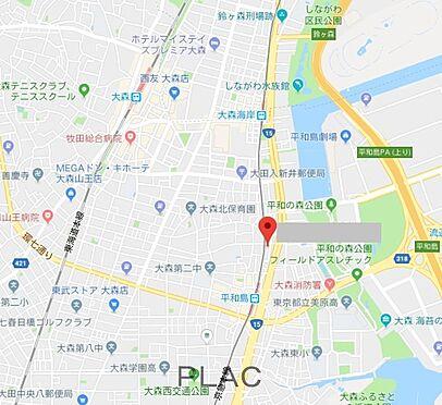マンション(建物全部)-大田区大森北6丁目 地図