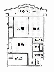 マンション(建物一部)-新潟市中央区川岸町2丁目 間取り