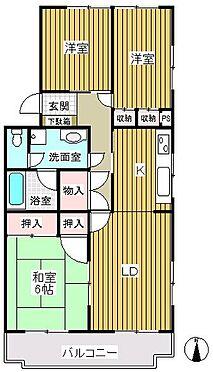 マンション(建物一部)-浜松市中区南浅田1丁目 日栄ハイム南浜松間取