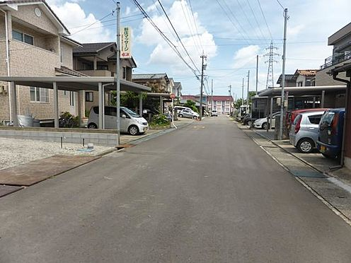 アパート-野々市市新庄1丁目 前面道路