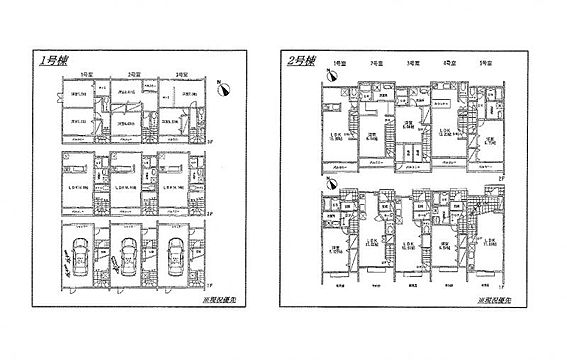 アパート-世田谷区玉堤1丁目 地型図