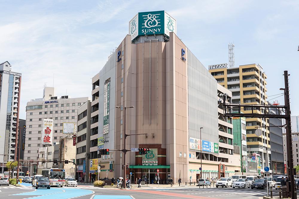サニー渡辺通店 約330m(徒歩5分)