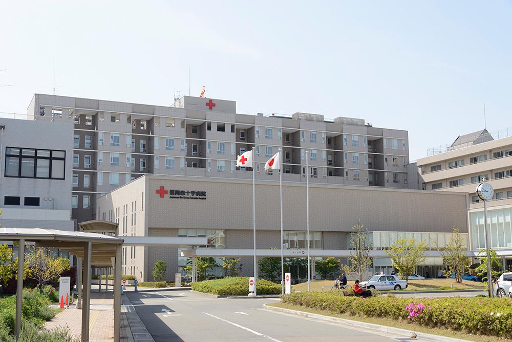 福岡赤十字病院 約1,100m(徒歩14分)
