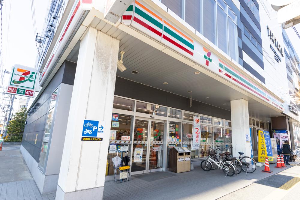 セブンイレブン福岡西新中央店 約150m(徒歩2分)