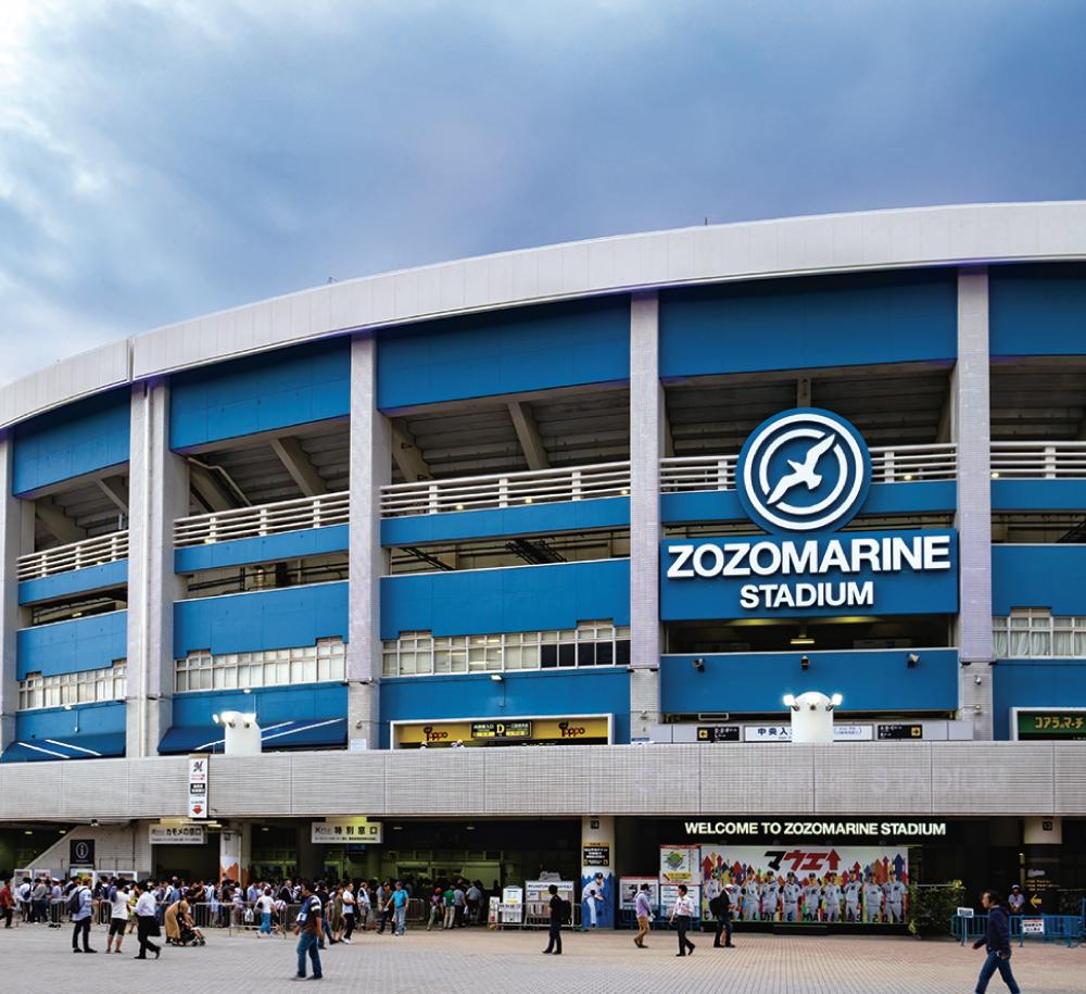 ZOZOマリンスタジアム 約2,920m