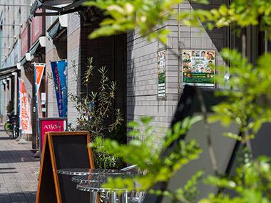 荒川銀座商和会商店街(通称:まちやアベニュー) 約540m(徒歩7分)