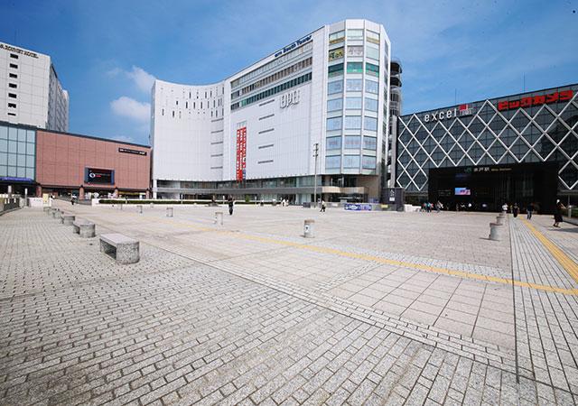 水戸駅南口 約840m(徒歩11分)