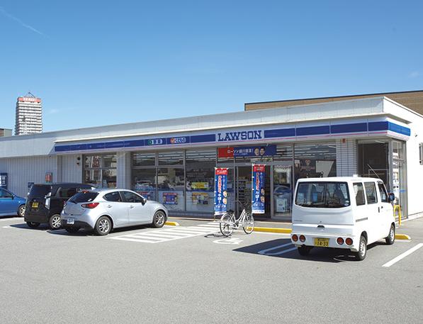 ローソン富山窪本町店 約70m(徒歩1分)