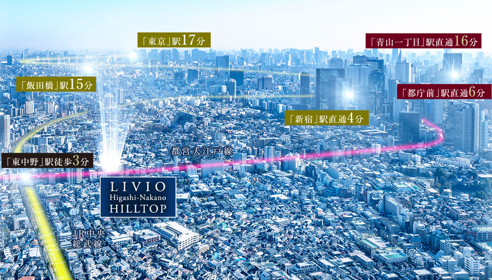 リビオ 東中野 ヒル トップ
