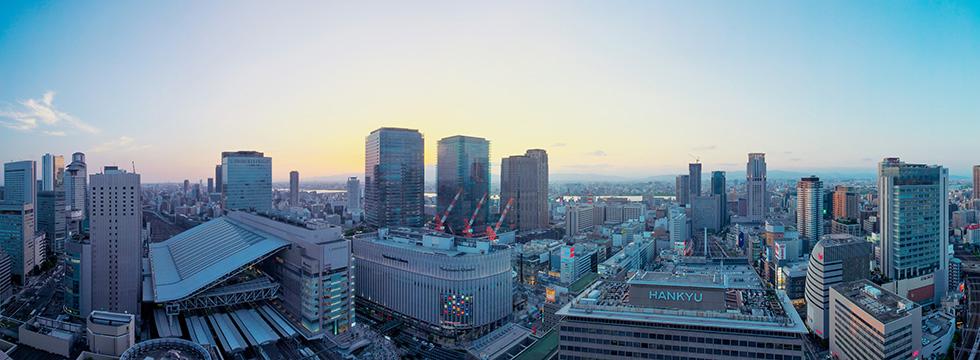 大阪ステーションシティ ノースゲートビルディング 約1,130m(徒歩15分)