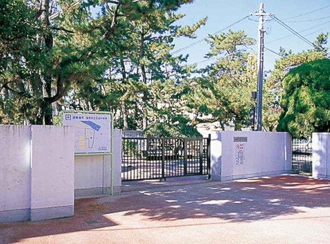 百道中学校 約730m(徒歩10分)