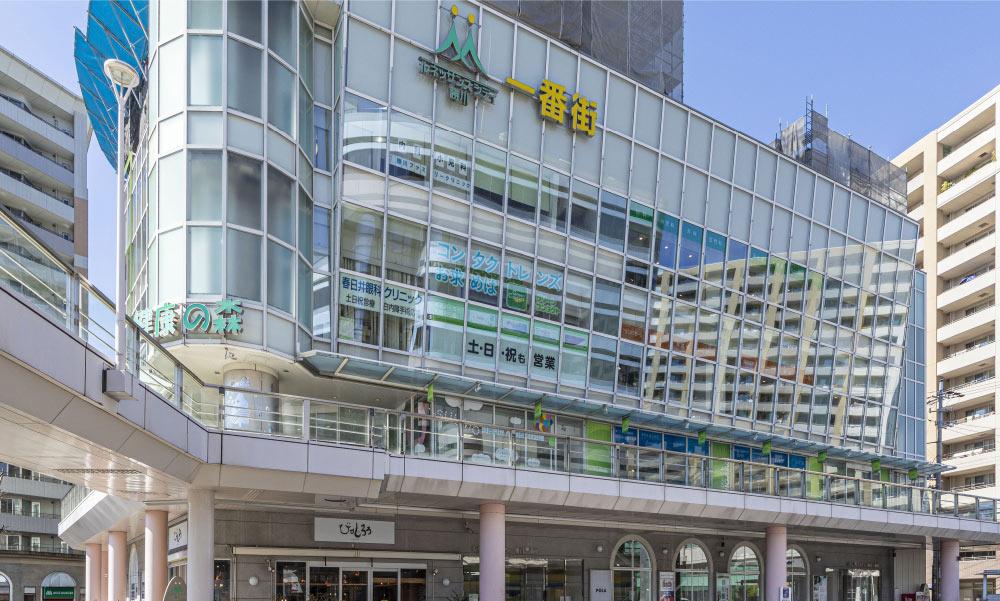 ルネッサンスシティ勝川一番街 約290m(徒歩4分)