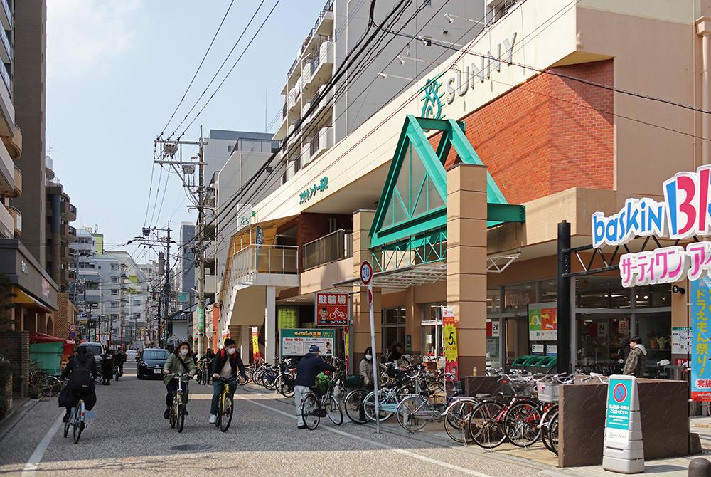 西新~藤崎地区商店街 約960m(徒歩12分)