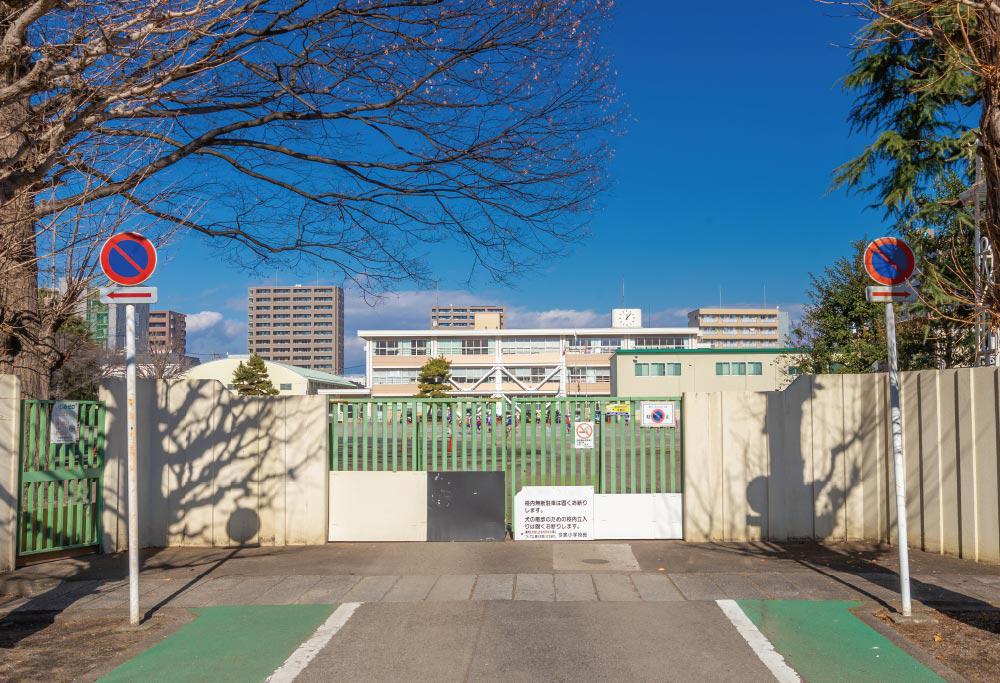 市立今泉小学校 約600m(徒歩8分)