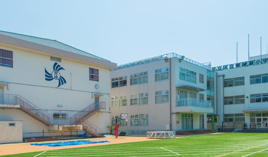 足立区立東綾瀬小学校(通学校) 約400m(徒歩5分)