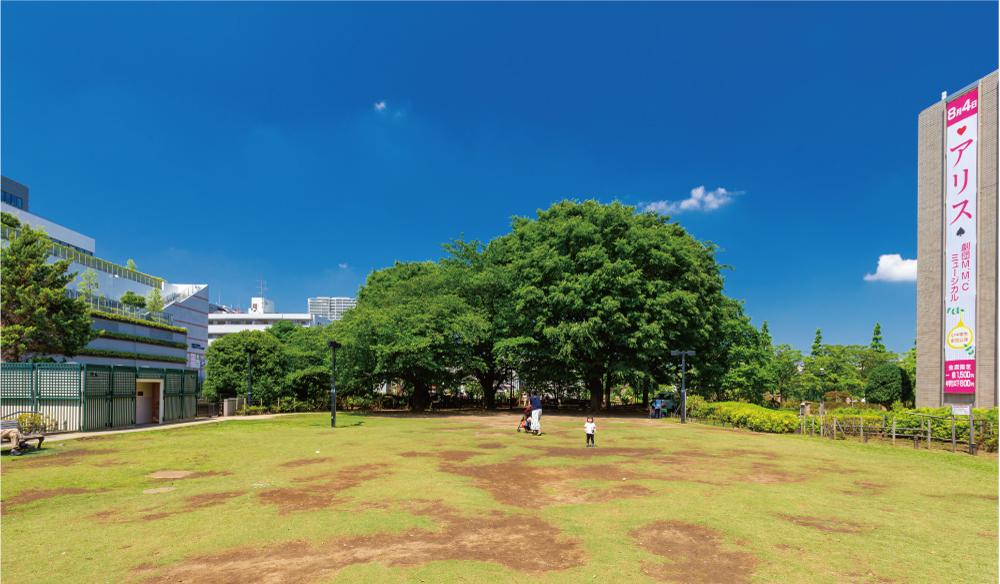 平成つつじ公園 約170m(徒歩3分)