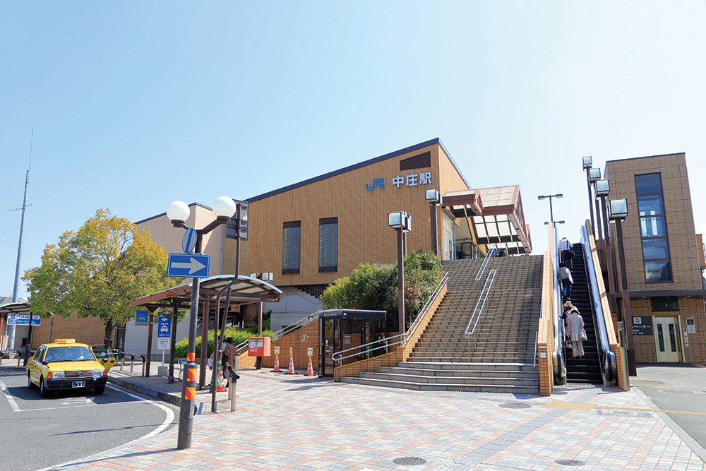JR「中庄」駅 約670m(徒歩9分)