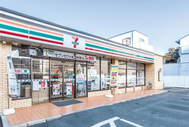 セブンイレブン 浜松山下町店 約240m(徒歩3分)
