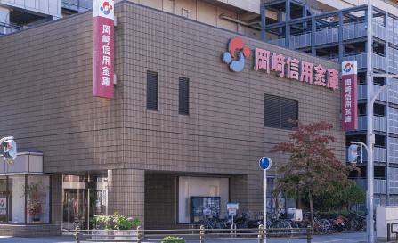 岡崎信用金庫 豊田支店 約470m(徒歩6分)