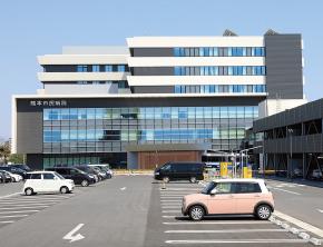 熊本市民病院 約730m(徒歩10分)