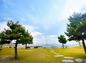 大蔵海岸公園 約110m(徒歩2分)