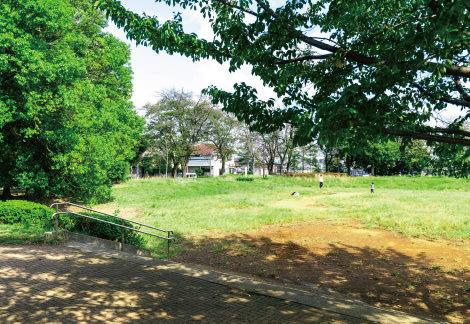 新石川公園 約550m(徒歩7分)