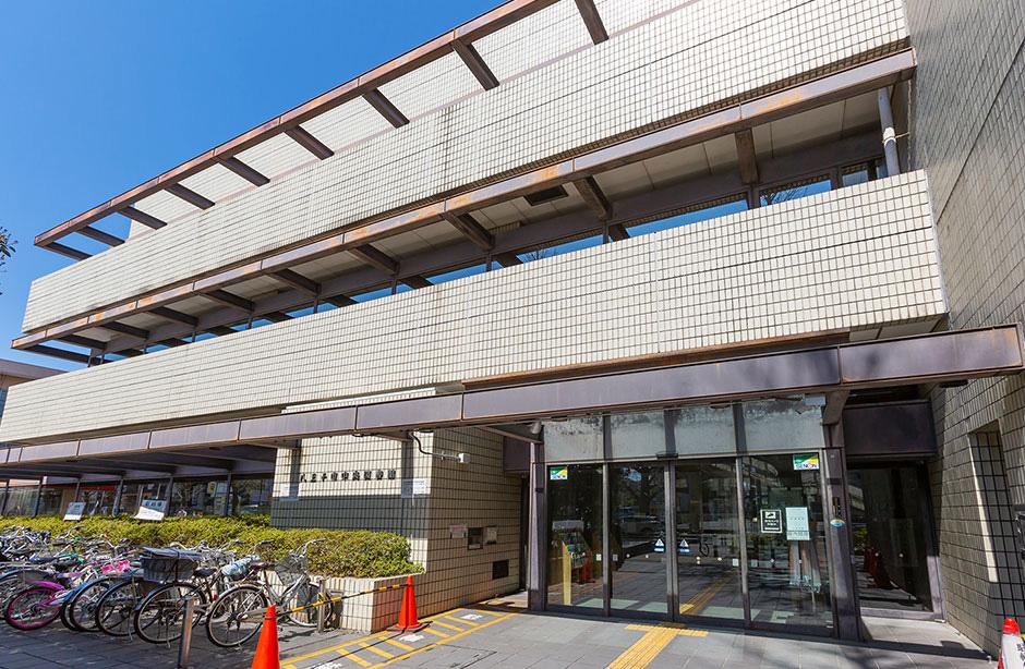 八王子市中央図書館 約750m(徒歩10分)