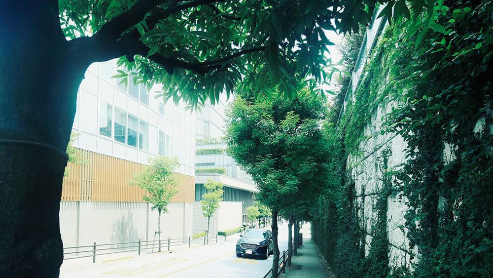 市ケ谷駅周辺の街並み 約920m(徒歩12分)(2019年7月撮影)