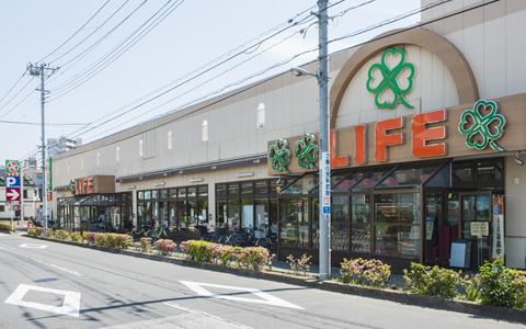 ライフ中野新井店 約50m(徒歩1分)