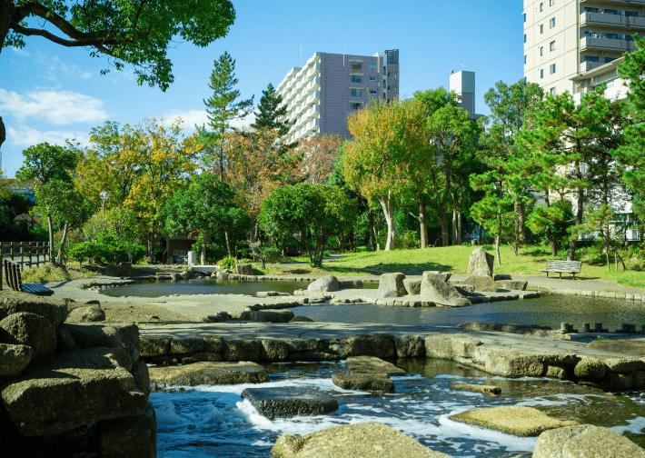 仙台堀川公園 約290m(徒歩4分)