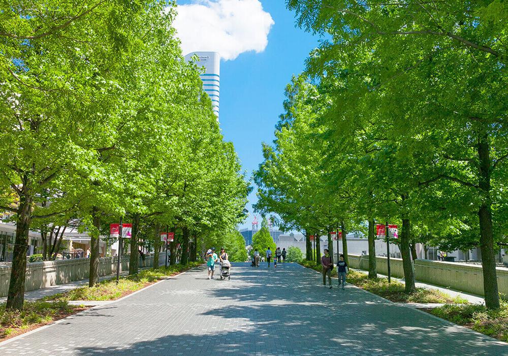 グランモール公園 約590m(徒歩8分)