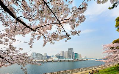 京浜運河緑道公園 グランドエントランスから約640m/徒歩8分