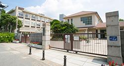 神戸市立住吉小学校 約480m