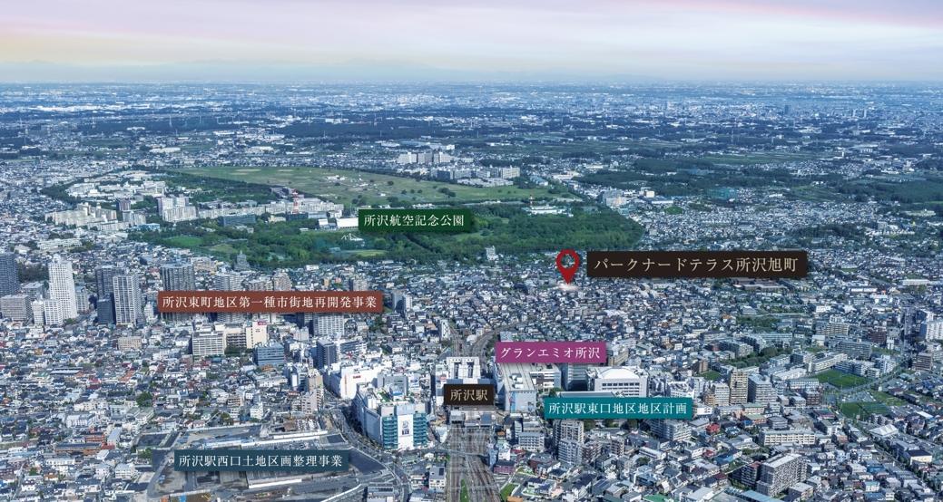 HOME'S】パークナードテラス所沢...