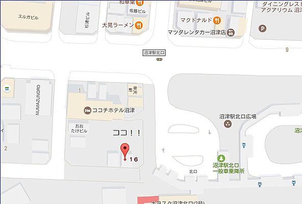 沼津 地図