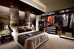 主寝室(メインベッドルーム)