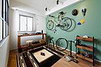 プライベートスペース(モデルルームFgタイプ(有償オプション・メニュープラン)2018年3月撮影)子供部屋などのプライベートスペースとして、また趣味の部屋や書斎、収納スペースなどの使い方は自由で多彩。