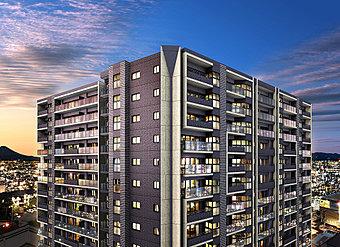眺望写真 ※眺望写真は現地9階相当から撮影(2018年8月)したパノラマ写真にCG加工しており、実際とは異なります。