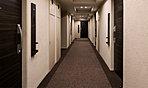 高級感ある内廊下