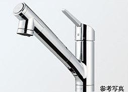 浄水器付シャワー混合栓