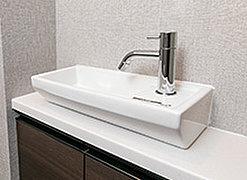 トイレ内には便利な手洗いカウンターを全戸標準で装備しています。